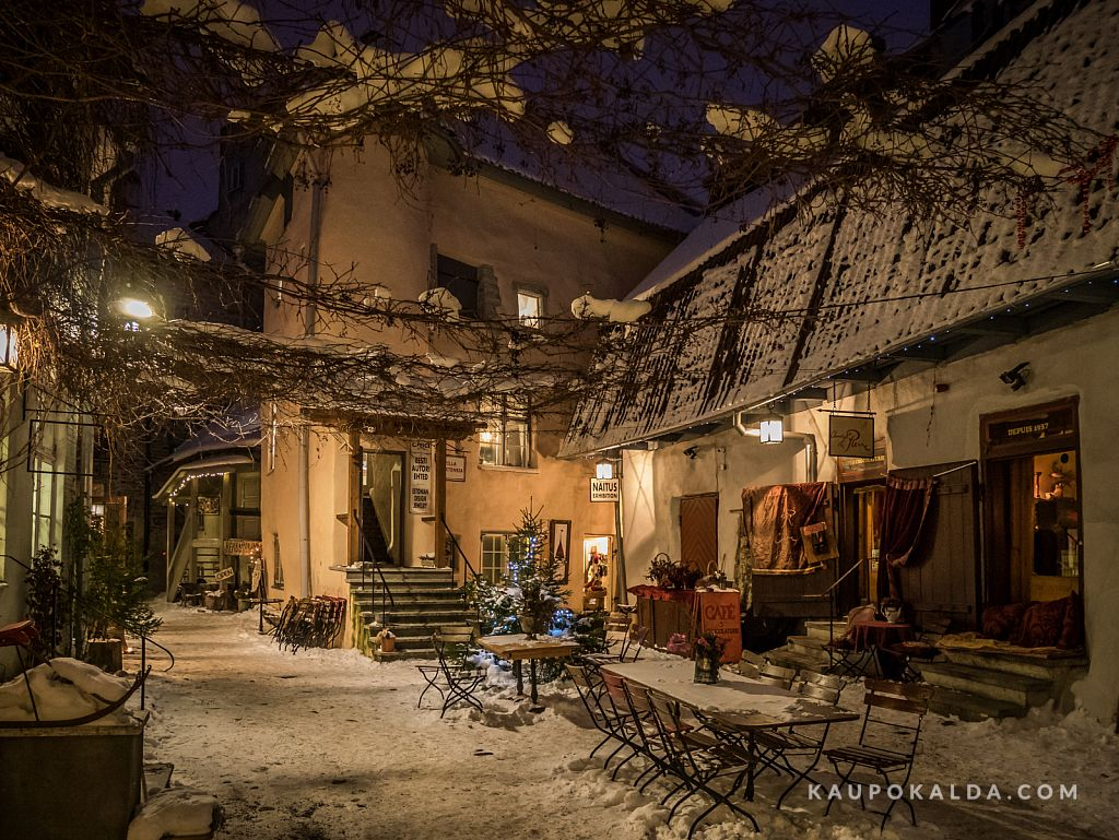 03 Öine jalutuskäik vanalinnas / Photo walks in medieval Tallinn