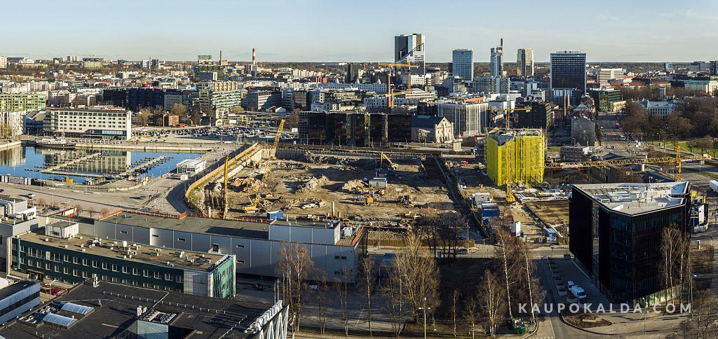 Tallinna sadamaala ehitus, kevad 2016