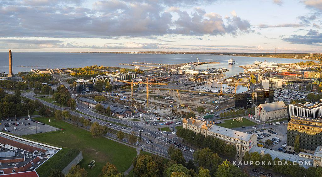 Tallinna sadamaala ehitus, sügis 2015