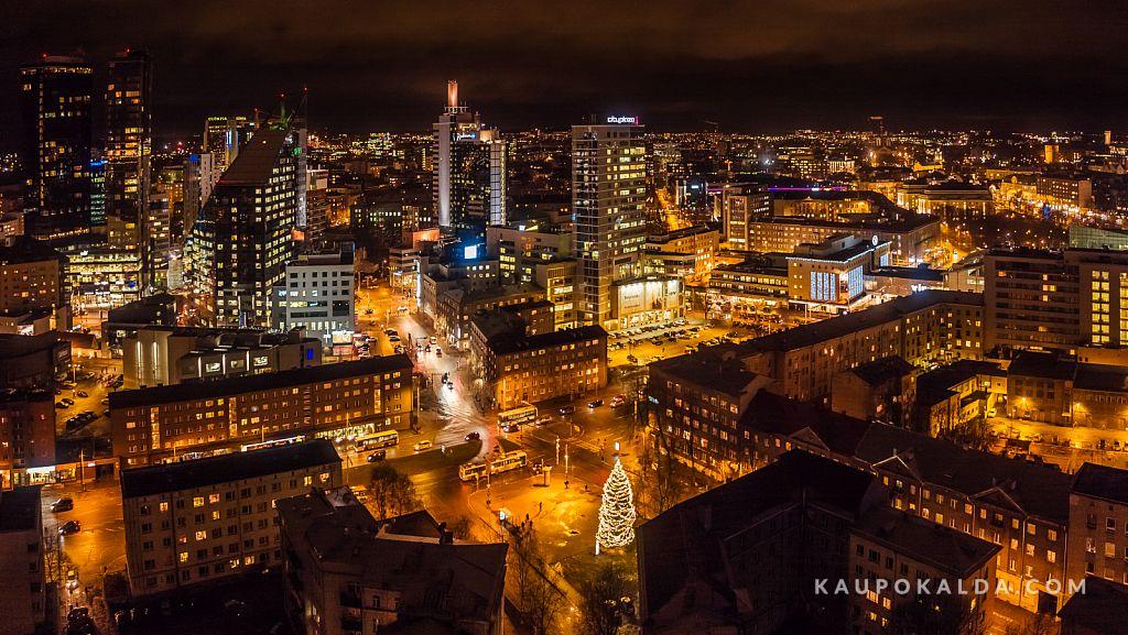 Tallinna suurim jõulukuusk